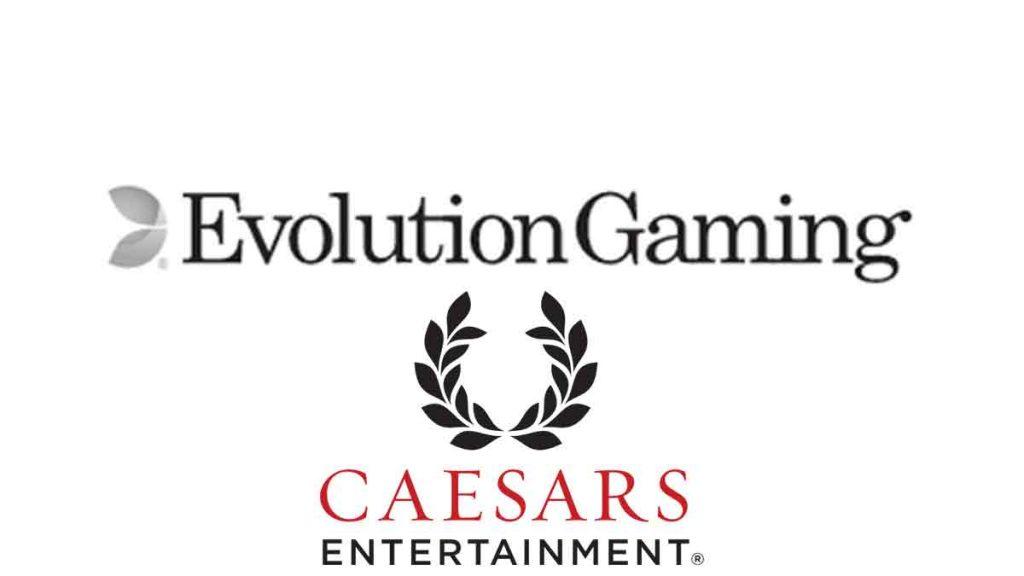 evolution-gaming-caesars-entertainment