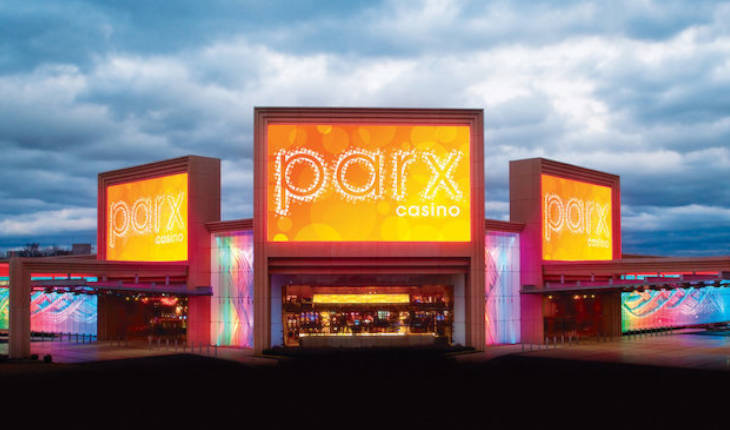 Parx Casino's land-based venues.