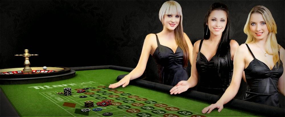 Live-dealer games on iPad casino apps.