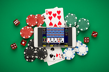 Video Poker Mobile Device Game