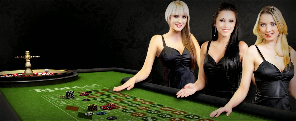 Live-dealer games on iPad casino apps.