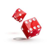 Top Real Money Online Craps Red Dice Throw