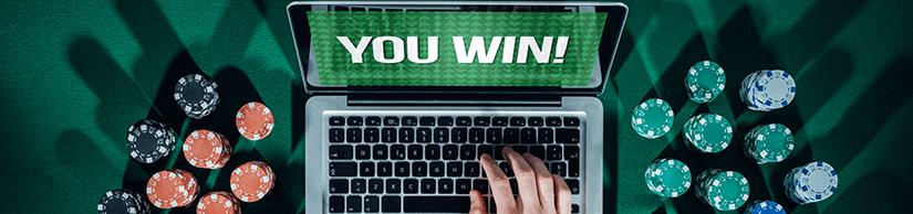 Winning Video Poker Tips Laptop Screen